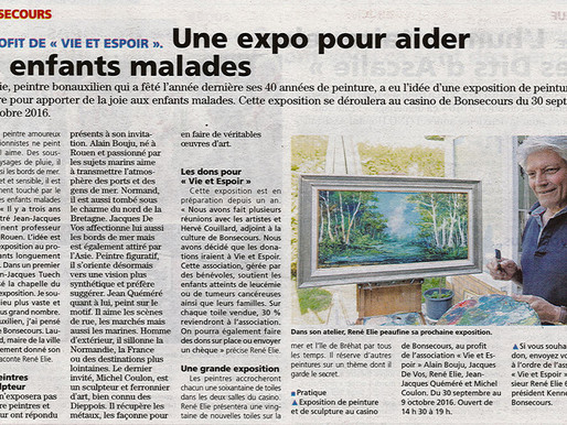 Exposition solidaire Bonsecours