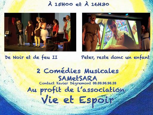Comédies musicales à Bihorel le 13 Novembre 2016