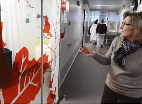 Inauguration des nouveaux locaux du service d'hémato-immuno-oncologie.