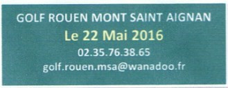 Le Golf de Mont Saint-Aignan