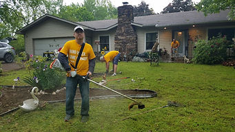Nate Bachelor United Way Day of Caring