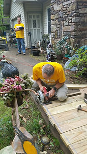 Steve Pawlaczyk and Jeff Geurian United Way Day of Caring