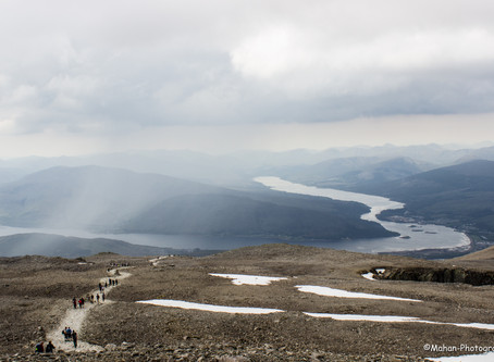 From Schiehallion to Ben Nevis