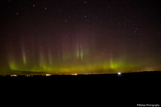 Northern Lights In Aberdeen