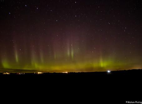 Northern Lights In Aberdeen