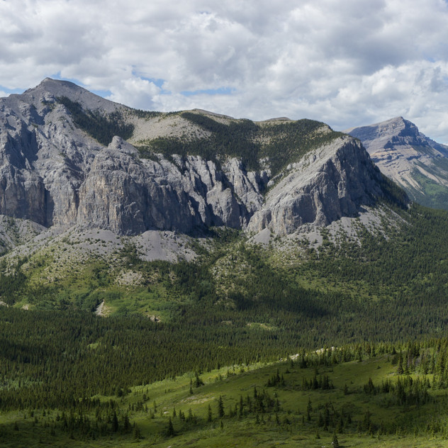 View from Mount Yamnuska