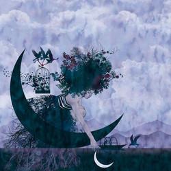 ALLUNAGGIO Luna nell'acqua B