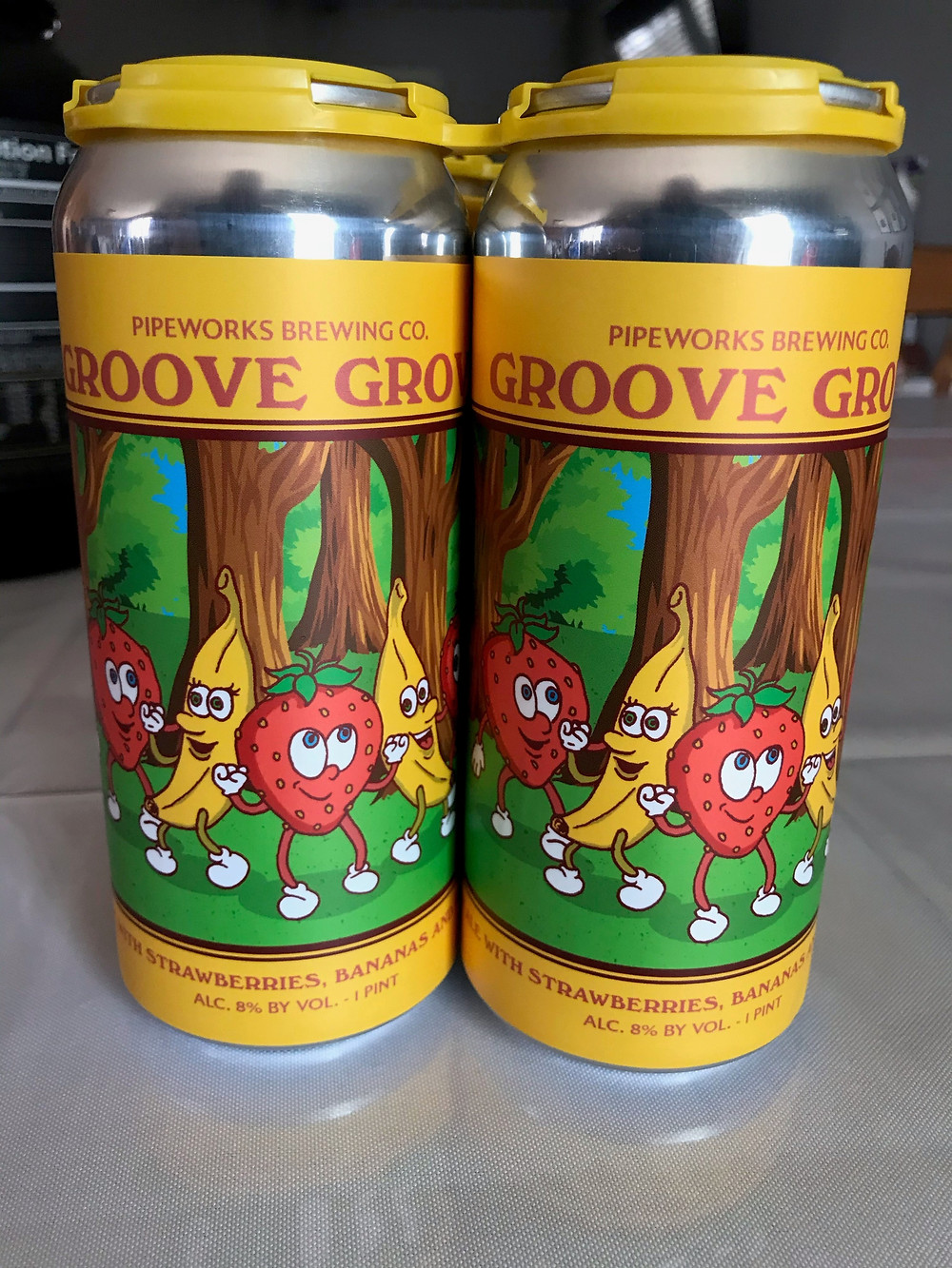 Groove Grove Beer Review