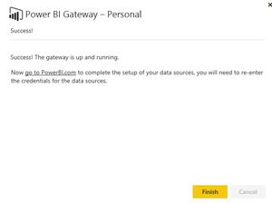 Connecting Dynamics NAV to Microsoft Power BI