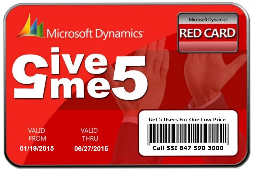 Microsoft Dynamics NAV Promotion