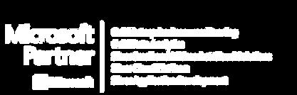 Microsoft Partner Logo January 2020 - Wh