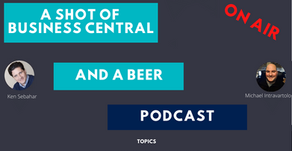 A Shot of Business Central and A Beer Episode 18