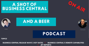 A Shot of Business Central and A Beer Episode 15
