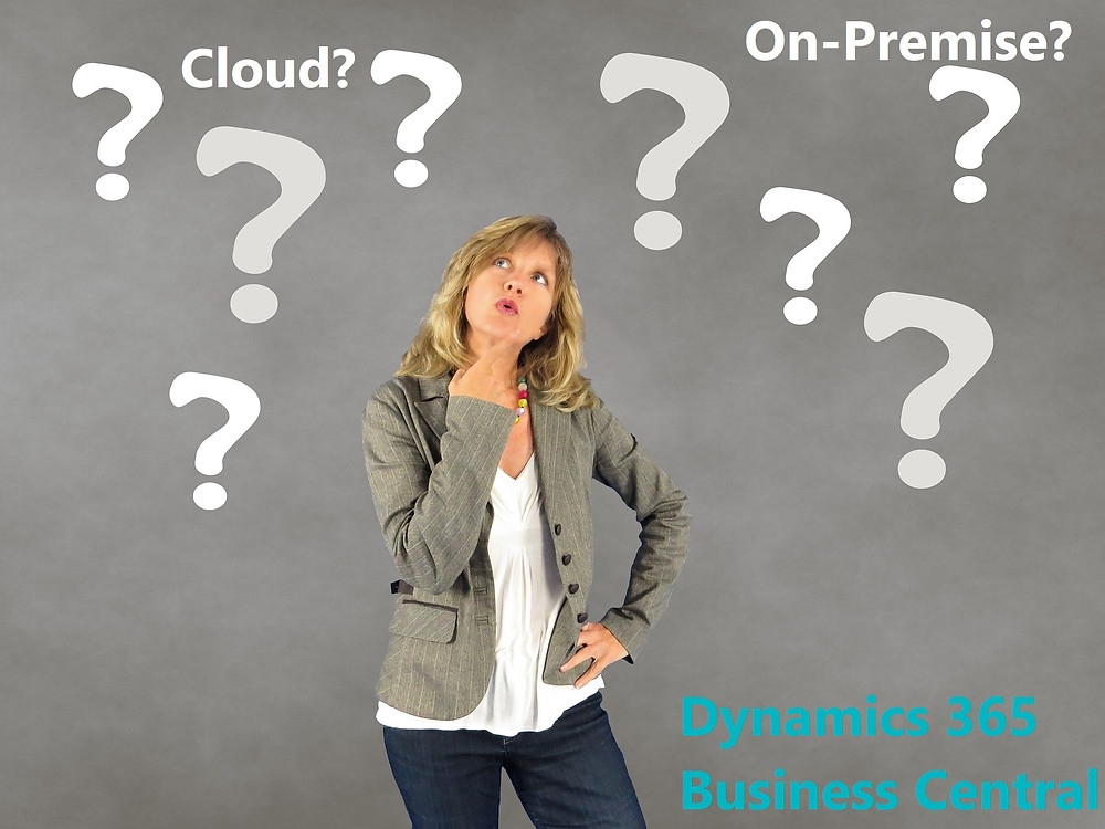 What's the difference between Business Central Cloud and Business Central On-premise?