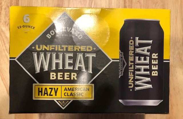 American Boulevard's Unfiltered Wheat Beer Review.