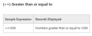 Microsoft Dynamics NAV Filter Criteria Symbols