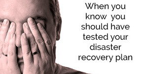 5 steps to a solid disaster recovery plan