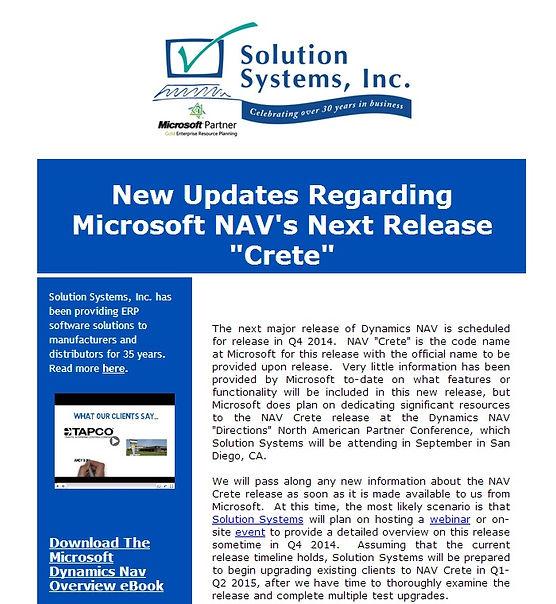 SSI Microsoft Dynamics NAV Blog