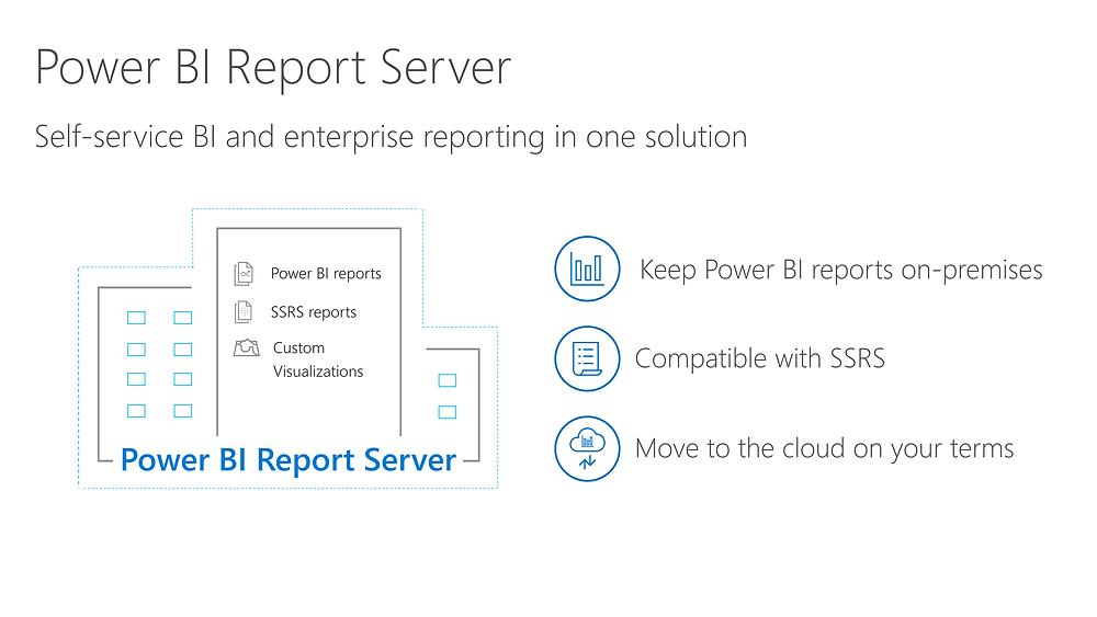 Power BI Report Server: Self service BI and enterprise reporting in one solution