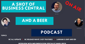 A Shot of Business Central and A Beer Episode 16