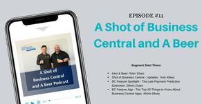 [Podcast] Business Central March 2020 News, Late Payment Prediction Extension, and More!