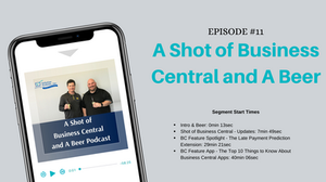 Business Central March 2020 News, Late Payment Prediction Extension, and top 10 things to know about Business Central Apps