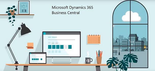 View the Business Central business management solution here