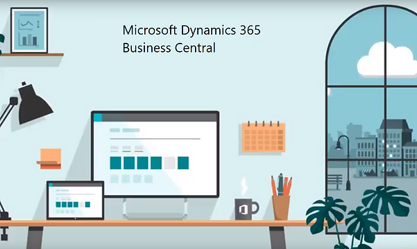 Run your business within Office 365 with the embedded Business Central experience