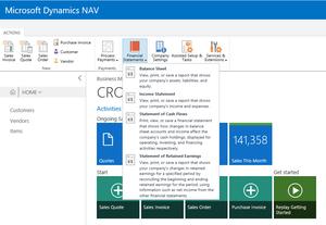 Dynamics NAV Financial Reports