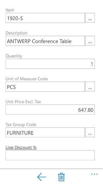 Dynamics 365 for Financials Mobile App