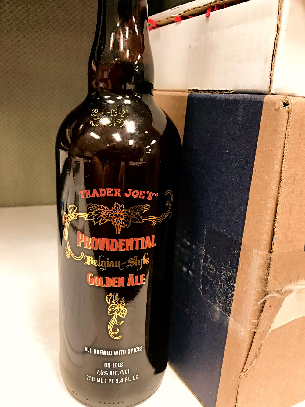 Trader Joe's Providential Golden Ale Beer Review
