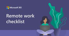 Infographic: Remote Work Checklist