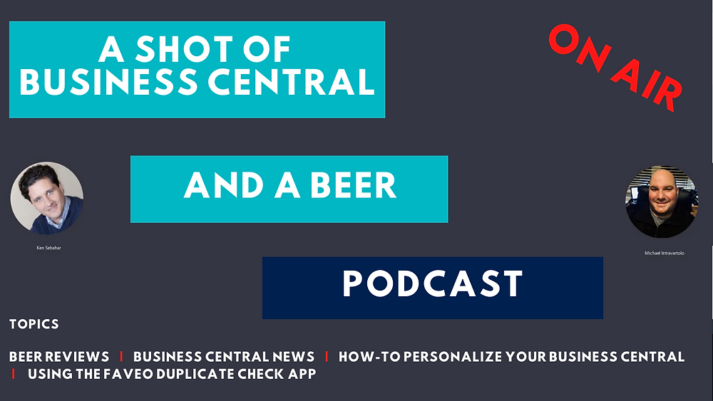 The first podcast created specifically for Business Central.