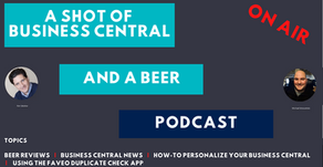 A Shot of Business Central and A Beer Episode 14