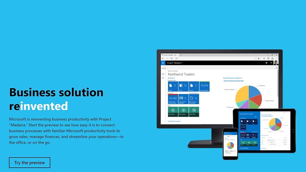 Microsoft Dynamics 365 for Financials