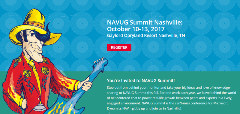 NAVUG Summit 2017