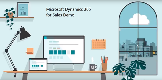 View the Microsoft Dynamics 365 for Sales CRM Software Demo