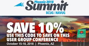 Join Solution Systems at BCUG/NAVUG Summit Phoenix