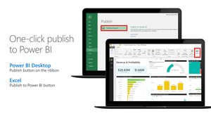 One-click publish to Power BI