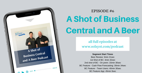A Shot of Business Central and A Beer - Episode 6