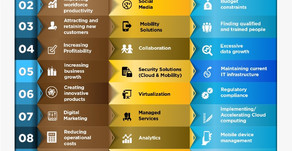 2016 Top 10 SMB Business Issues, IT Priorities and IT Challenges Infographic