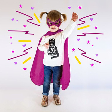 Kids are superheros