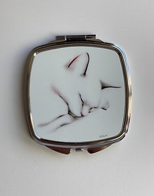 Cat Compact Mirror