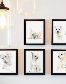Dog Art Print - Ltd