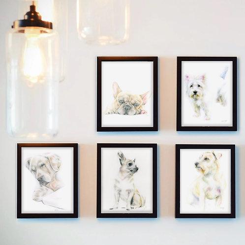 Dog Art Print - Ltd