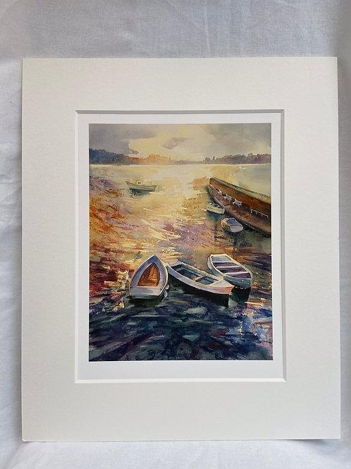 Crammond Beach Boats