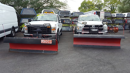 M&M trucks and plows