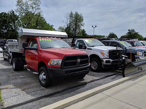 M&M Inc. Vehicle inventory