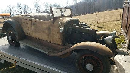 antique car pickup