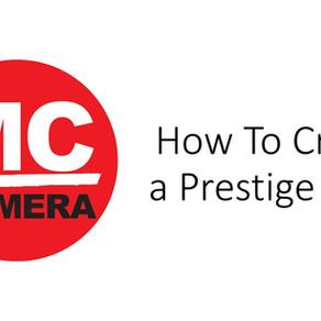 Creating a Prestige Book
